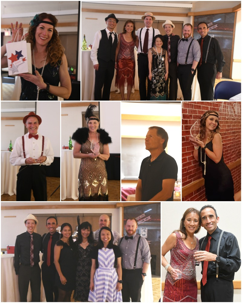 Collage of photos from the annual recognition banquet