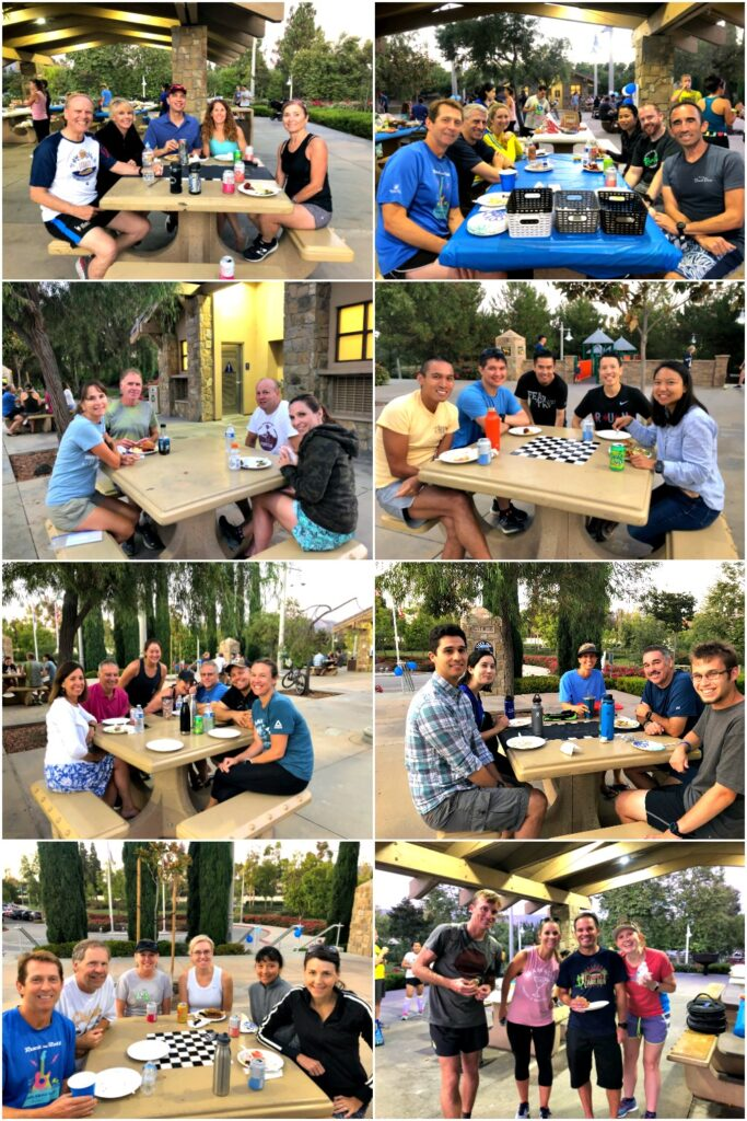 Summer BBQ Potluck photo collage