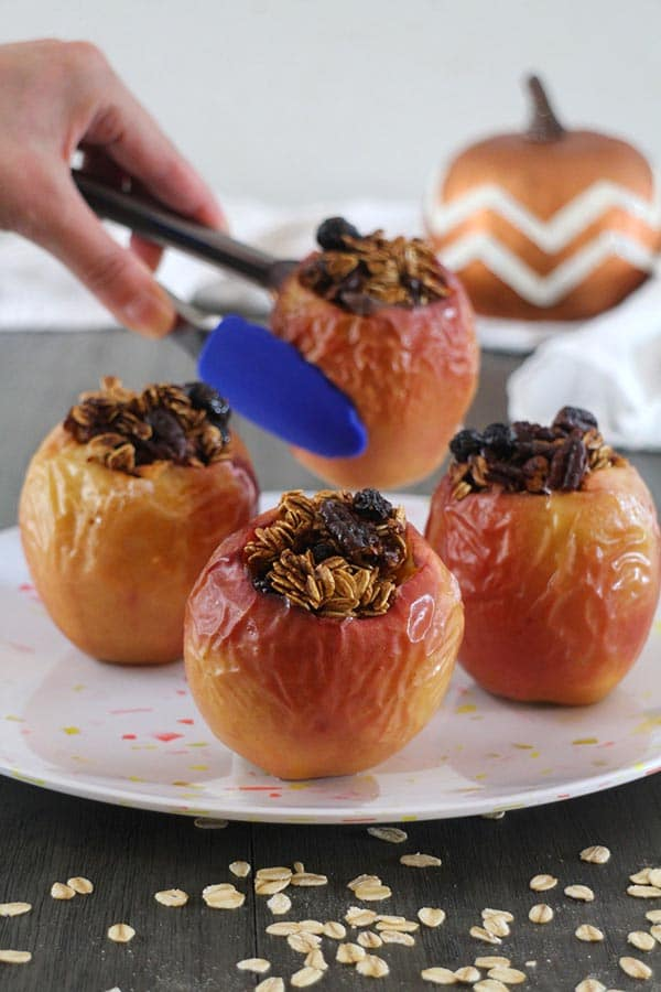 Pumpkin Spice Baked Apples