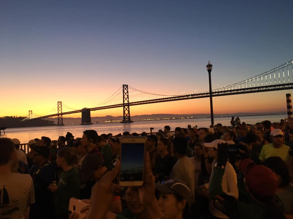 Start of the SF Marathon
