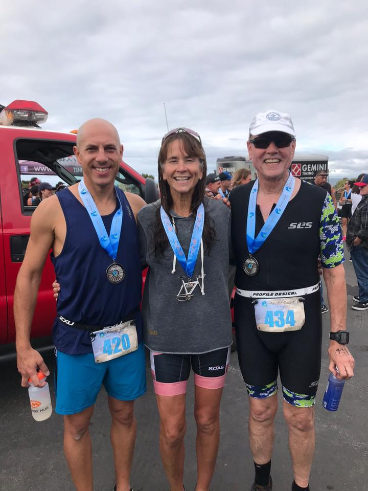 SCRR members at the Pacific Coast Traithlon