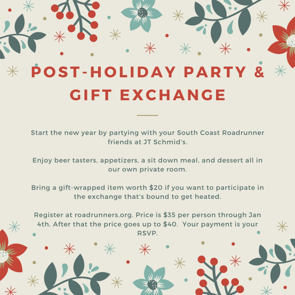 Post-Holiday Party & Gift Exchange