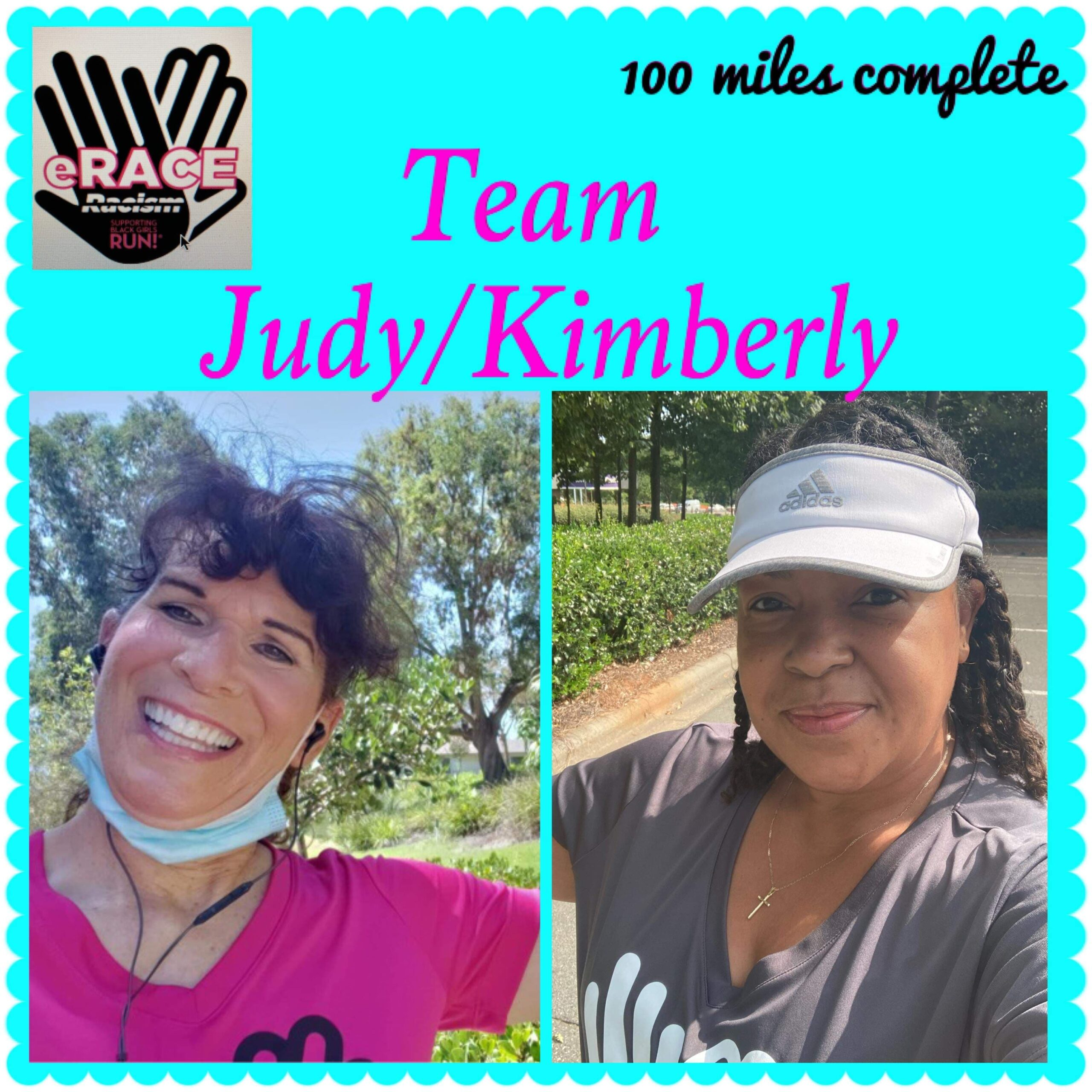 Photos of Judy and Kimberly